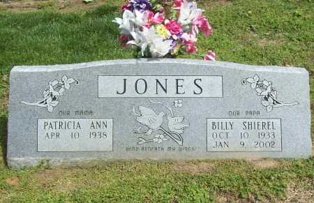 JONES, BILLY SHIERREL - Benton County, Arkansas | BILLY SHIERREL JONES - Arkansas Gravestone Photos