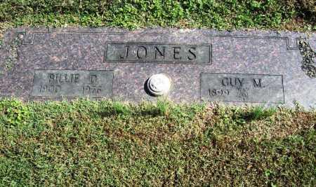 JONES, BILLIE D. - Benton County, Arkansas | BILLIE D. JONES - Arkansas Gravestone Photos