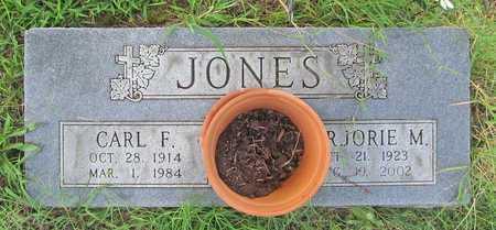 JONES, CARL FRANKLIN - Benton County, Arkansas   CARL FRANKLIN JONES - Arkansas Gravestone Photos