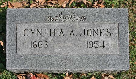 JONES, CYNTHIA A - Benton County, Arkansas   CYNTHIA A JONES - Arkansas Gravestone Photos