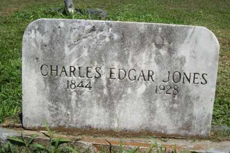JONES, CHARLES EDGAR - Benton County, Arkansas   CHARLES EDGAR JONES - Arkansas Gravestone Photos