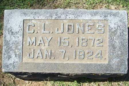 JONES, COLUMBUS L. - Benton County, Arkansas | COLUMBUS L. JONES - Arkansas Gravestone Photos