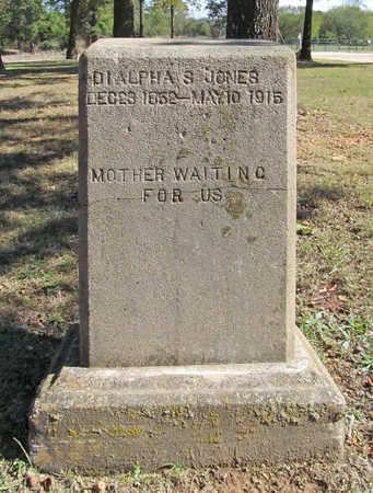 JONES, DIALPHA SAVANNAH - Benton County, Arkansas | DIALPHA SAVANNAH JONES - Arkansas Gravestone Photos