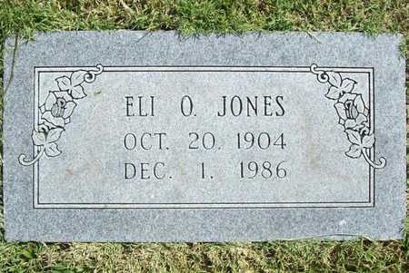 JONES, ELI O - Benton County, Arkansas | ELI O JONES - Arkansas Gravestone Photos