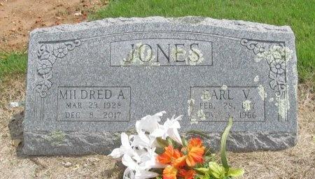 JONES, MILDRED A - Benton County, Arkansas   MILDRED A JONES - Arkansas Gravestone Photos