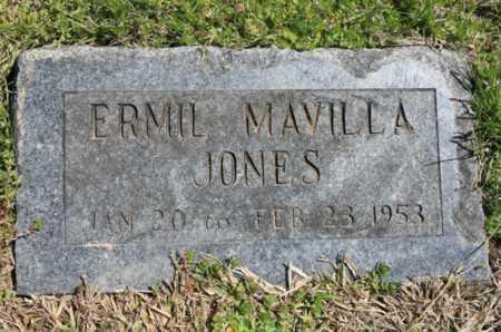 JONES, ERMIL MA(R)VILLA - Benton County, Arkansas | ERMIL MA(R)VILLA JONES - Arkansas Gravestone Photos