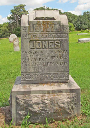 JONES, ELICK HAMILTON - Benton County, Arkansas | ELICK HAMILTON JONES - Arkansas Gravestone Photos