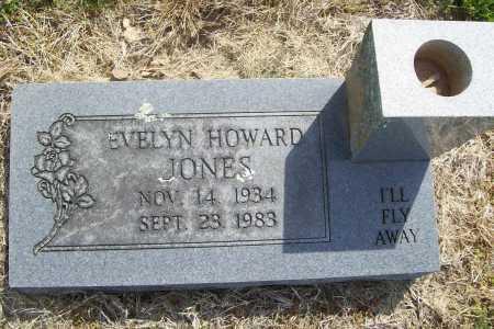 JONES, EVELYN - Benton County, Arkansas | EVELYN JONES - Arkansas Gravestone Photos