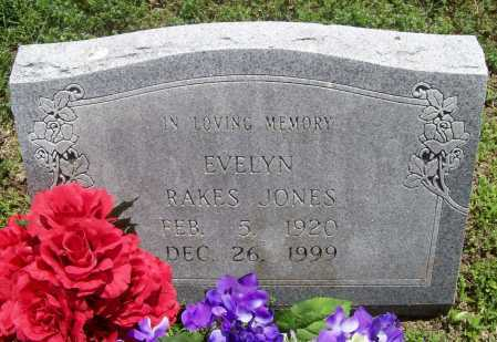 JONES, EVELYN L. - Benton County, Arkansas | EVELYN L. JONES - Arkansas Gravestone Photos