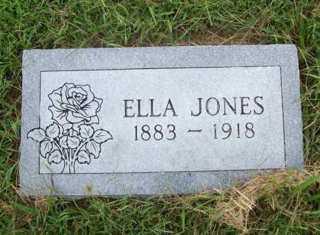 JONES, ELLA - Benton County, Arkansas   ELLA JONES - Arkansas Gravestone Photos