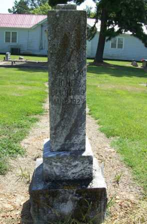 JONES, FRANK M. - Benton County, Arkansas | FRANK M. JONES - Arkansas Gravestone Photos