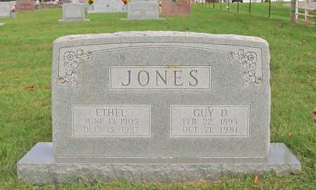 JONES, GUY D - Benton County, Arkansas | GUY D JONES - Arkansas Gravestone Photos