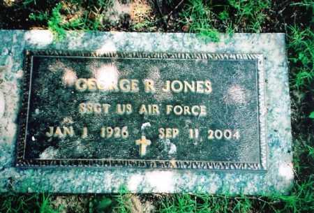 JONES, GEORGE R. - Benton County, Arkansas | GEORGE R. JONES - Arkansas Gravestone Photos