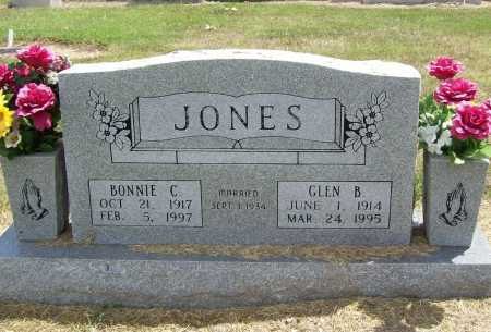 JONES, GLEN B. - Benton County, Arkansas | GLEN B. JONES - Arkansas Gravestone Photos