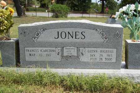 JONES, GLENN HIGHFILL - Benton County, Arkansas | GLENN HIGHFILL JONES - Arkansas Gravestone Photos