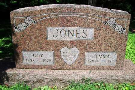 JONES, GUY - Benton County, Arkansas   GUY JONES - Arkansas Gravestone Photos