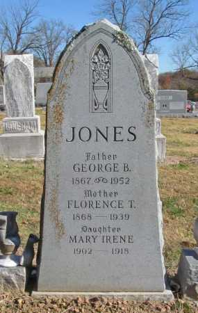 JONES, GEORGE B - Benton County, Arkansas | GEORGE B JONES - Arkansas Gravestone Photos