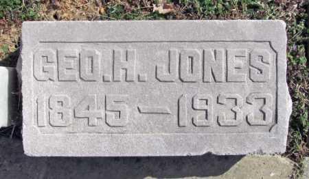 JONES, GEORGE H - Benton County, Arkansas | GEORGE H JONES - Arkansas Gravestone Photos