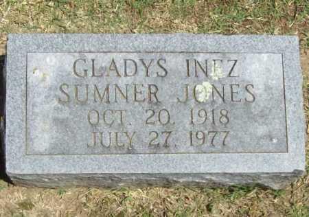 JONES, GLADYS INEZ - Benton County, Arkansas   GLADYS INEZ JONES - Arkansas Gravestone Photos