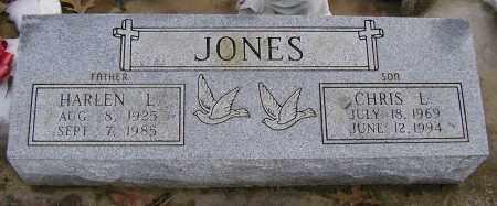 JONES, CHRIS L. - Benton County, Arkansas | CHRIS L. JONES - Arkansas Gravestone Photos