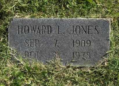 JONES, HOWARD L - Benton County, Arkansas | HOWARD L JONES - Arkansas Gravestone Photos