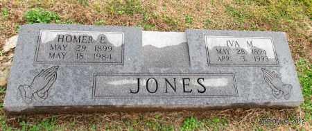 JONES, IVA MAE - Benton County, Arkansas   IVA MAE JONES - Arkansas Gravestone Photos