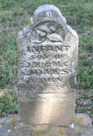 JONES, INFANT SON - Benton County, Arkansas | INFANT SON JONES - Arkansas Gravestone Photos