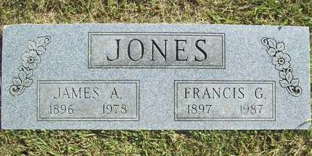 JONES, FRANCES GERTRUDE - Benton County, Arkansas   FRANCES GERTRUDE JONES - Arkansas Gravestone Photos