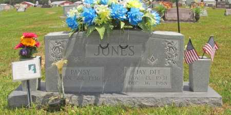 JONES, PANSY - Benton County, Arkansas | PANSY JONES - Arkansas Gravestone Photos