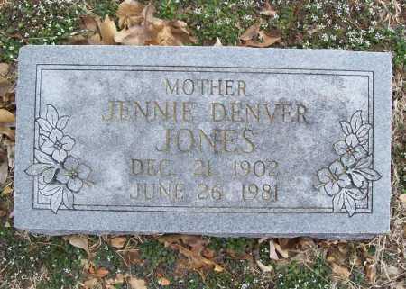 JONES, JENNIE - Benton County, Arkansas | JENNIE JONES - Arkansas Gravestone Photos