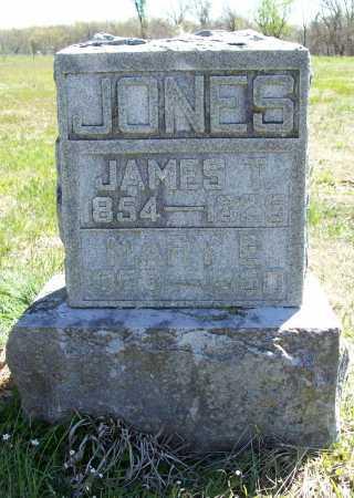 JONES, MARY E. - Benton County, Arkansas   MARY E. JONES - Arkansas Gravestone Photos