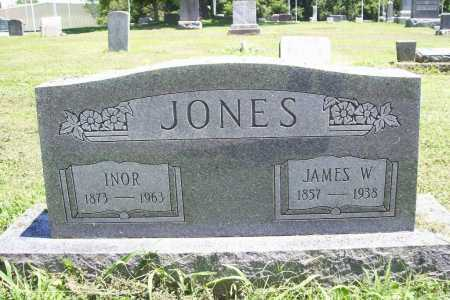 JONES, JAMES W. - Benton County, Arkansas | JAMES W. JONES - Arkansas Gravestone Photos