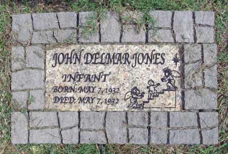 JONES, JOHN DELMAR - Benton County, Arkansas | JOHN DELMAR JONES - Arkansas Gravestone Photos