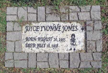 JONES, JOYCE YVONNE - Benton County, Arkansas | JOYCE YVONNE JONES - Arkansas Gravestone Photos