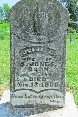 JONES, JULIA C - Benton County, Arkansas | JULIA C JONES - Arkansas Gravestone Photos