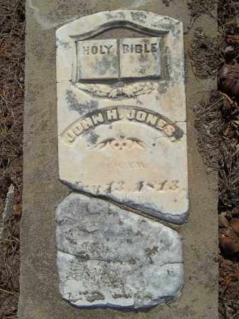 JONES, JOHN H. - Benton County, Arkansas | JOHN H. JONES - Arkansas Gravestone Photos