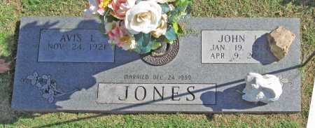 JONES, JOHN L. - Benton County, Arkansas | JOHN L. JONES - Arkansas Gravestone Photos