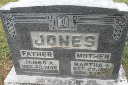 JONES, MARTHA ANN - Benton County, Arkansas | MARTHA ANN JONES - Arkansas Gravestone Photos