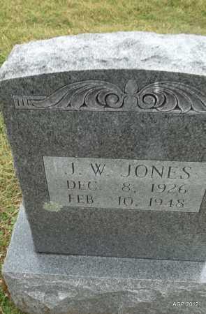 JONES, J. W. - Benton County, Arkansas   J. W. JONES - Arkansas Gravestone Photos