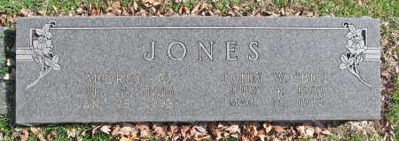 "JONES, JOHN W ""BILL"" - Benton County, Arkansas | JOHN W ""BILL"" JONES - Arkansas Gravestone Photos"