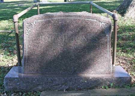 JONES, JOHN H - Benton County, Arkansas | JOHN H JONES - Arkansas Gravestone Photos