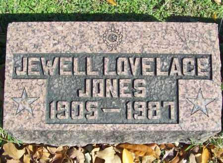 JONES, JEWELL - Benton County, Arkansas | JEWELL JONES - Arkansas Gravestone Photos