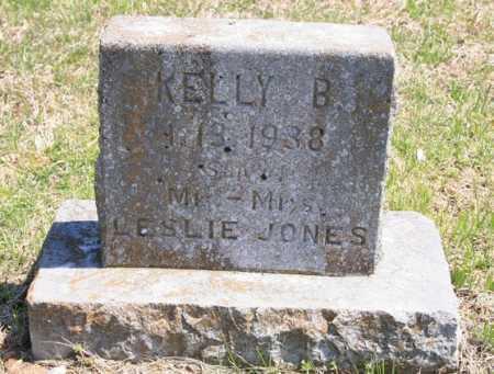 JONES, KELLY B. - Benton County, Arkansas | KELLY B. JONES - Arkansas Gravestone Photos