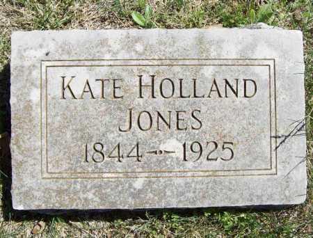 HOLLAND JONES, KATE - Benton County, Arkansas | KATE HOLLAND JONES - Arkansas Gravestone Photos