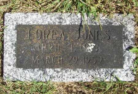 JONES, LOREA - Benton County, Arkansas | LOREA JONES - Arkansas Gravestone Photos