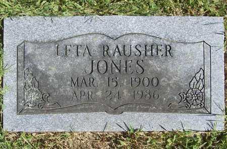 JONES, LETA - Benton County, Arkansas | LETA JONES - Arkansas Gravestone Photos