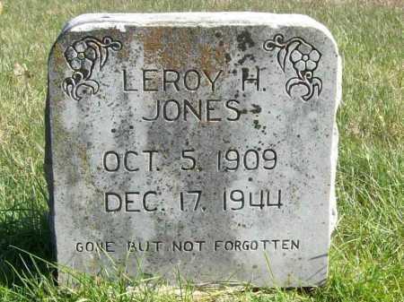 JONES, LEROY HUBERT - Benton County, Arkansas | LEROY HUBERT JONES - Arkansas Gravestone Photos