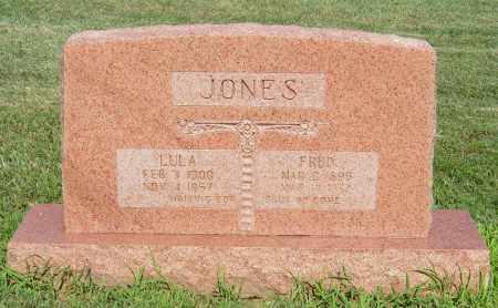 JONES, LULA - Benton County, Arkansas | LULA JONES - Arkansas Gravestone Photos