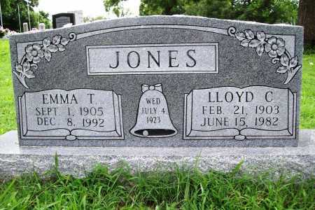 JONES, EMMA T. - Benton County, Arkansas | EMMA T. JONES - Arkansas Gravestone Photos