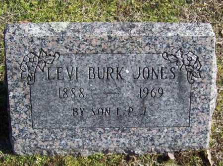 JONES, LEVI BURK - Benton County, Arkansas | LEVI BURK JONES - Arkansas Gravestone Photos